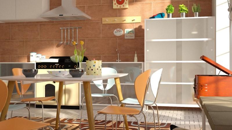 Kухонные стулья они могут оживить пространство
